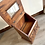 Thumbnail: LARGE VINTAGE MAHOGANY JEWELLERY BOX WITH DRAWERS