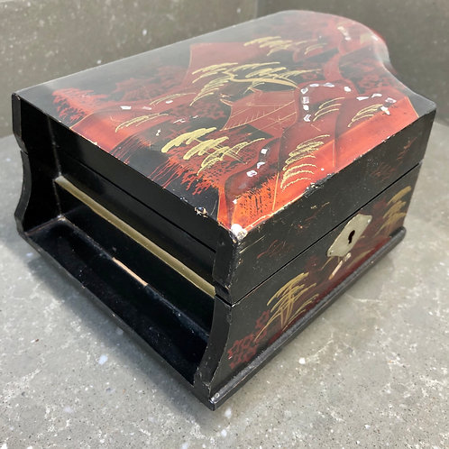 JAPANESE PIANO MUSICAL JEWELLERY BOX. Restoration project