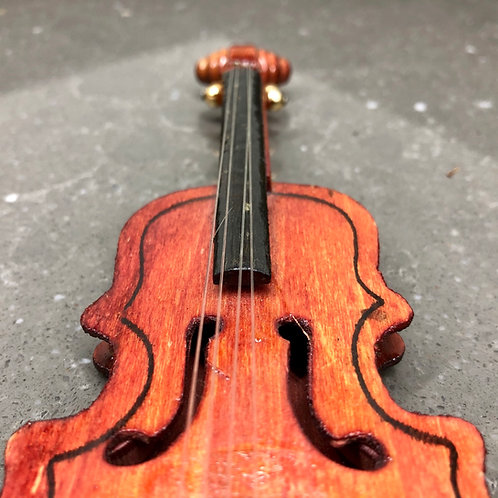 MINIATURE LACQUERED CELLO