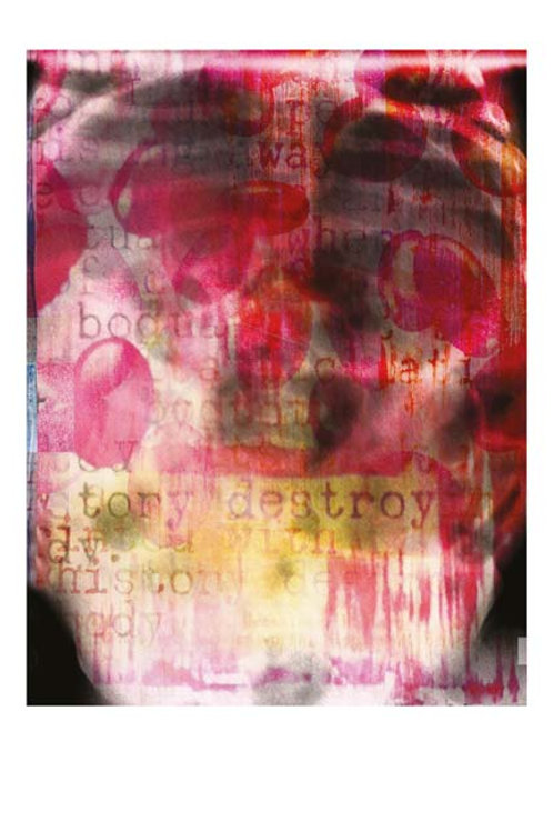 "LTD EDITION ART PRINT ""DESTROY"""