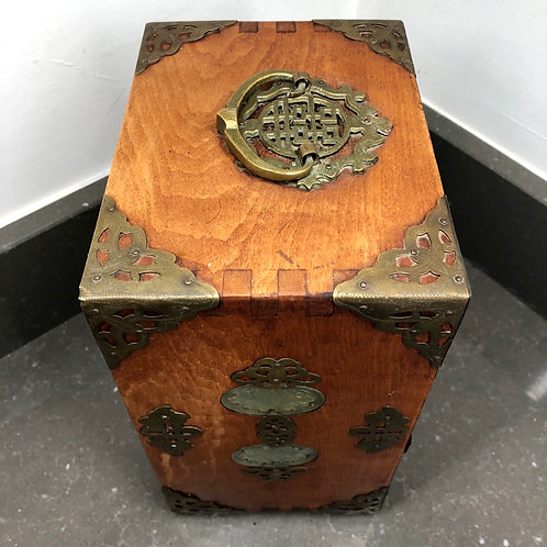VINTAGE CHINESE JEWELLERY CABINET