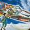 Thumbnail: VINTAGE DAINTEE SPACEMAN TIN
