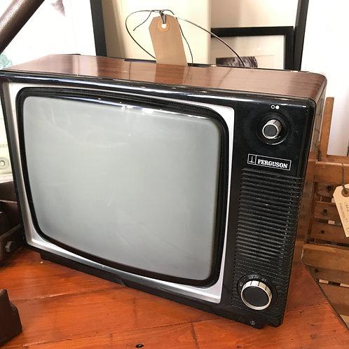 """VINTAGE FERGUSON 14"""" BLACK & WHITE TELEVISION"""