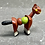 Thumbnail: VINTAGE MINIATURE ARTICULATED WOODEN HORSE