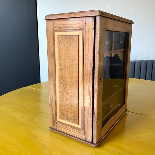 VINTAGE HANDMADE ART DECO SMOKERS CABINET