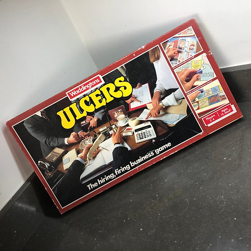 WADDINGTONS ULCERS BOARD GAME