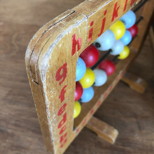 VINTAGE SMALL WOODEN ABACUS