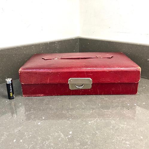 VINTAGE BOOTS LUXURY JEWELLERY BOX