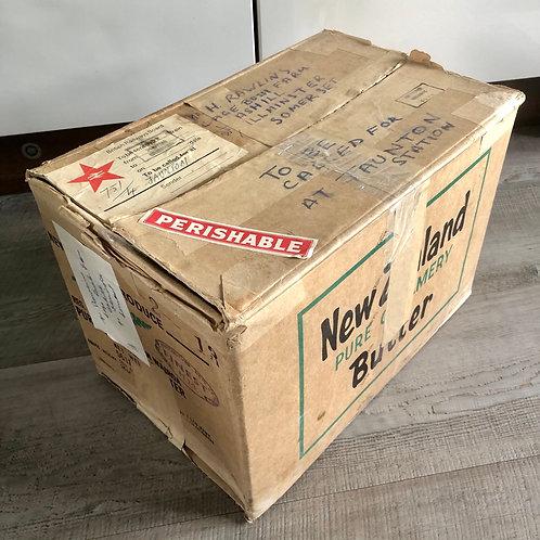 26th MARCH '69. CARDBOARD BOX