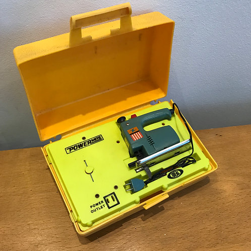 VINTAGE 1969 POWERMITE MINIATURE ELECTRIC JIGSAW