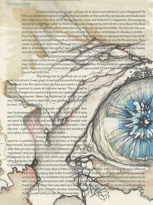 BOOK DOODLE:Eye
