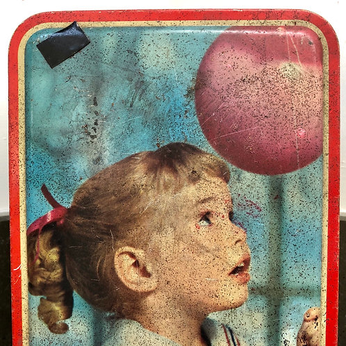 VINTAGE WALLER AND HARTLEY 'MILADY' TIN
