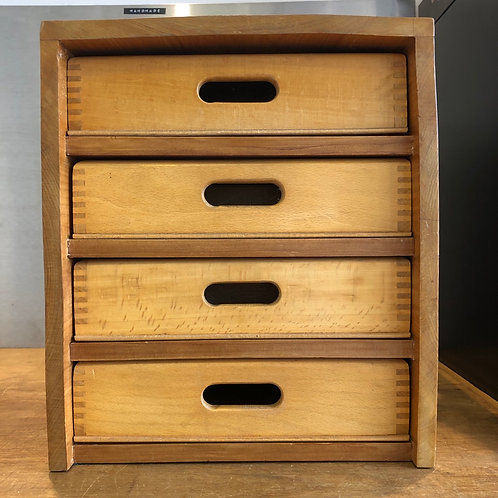 VINTAGE HANDMADE DOUBLE SIDED DRAWERS