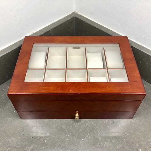 VINTAGE MELE JEWELLERY BOX DISPLAY CASE