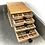 Thumbnail: MINIATURE HANDMADE PRINTERS DRAWERS. 144 compartments