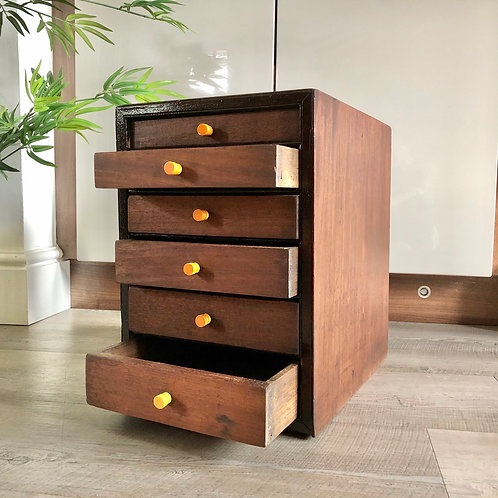 VINTAGE DOUBLE SIDED WORKSHOP DRAWERS