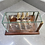 Thumbnail: GLASS HMS VICTORY SHIP IN GLASS DISPLAY CASE