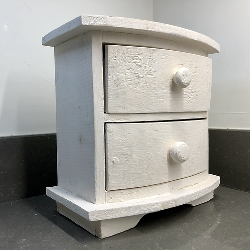 VINTAGE PAINTED BIW FRONT MINI DRAWERS