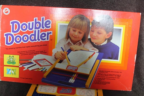1987 DOUBLE-DOODLER VINTAGE DRAWING GAME BOXED