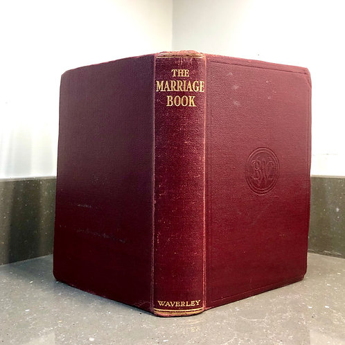 VINTAGE BOOK. THE GOOD MARRIAGE