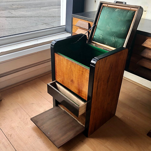 ART DECO SEWING CABINET