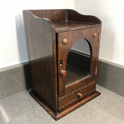 SMALL VINTAGE SMOKERS CABINET
