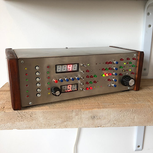 VINTAGE STYLE HANDMADE ELECTRONIC ACTIVITY CENTRE