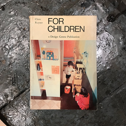 VINTAGE 1967 Claire Rayner 'For Children' book