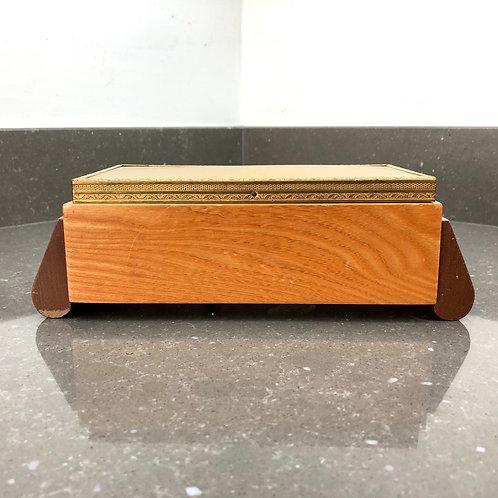 VINTAGE PRESENTA ART DECO MUSICAL BOX