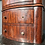Thumbnail: VINTAGE BOW FRONTED CHEST OF DRAWERS. Restoration project