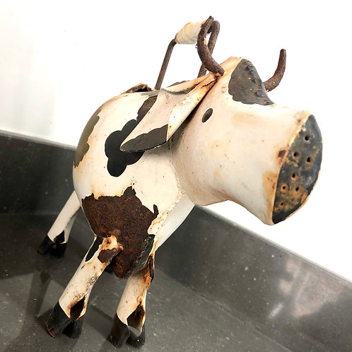 VINTAGE COW SHAPED WATERING CAN