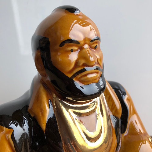 VINTAGE 1970s CERAMIC MR T MONEY BANK