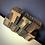 """Thumbnail: VINTAGE 1 5/8"""" WOODEN PRINT BLOCKS"""