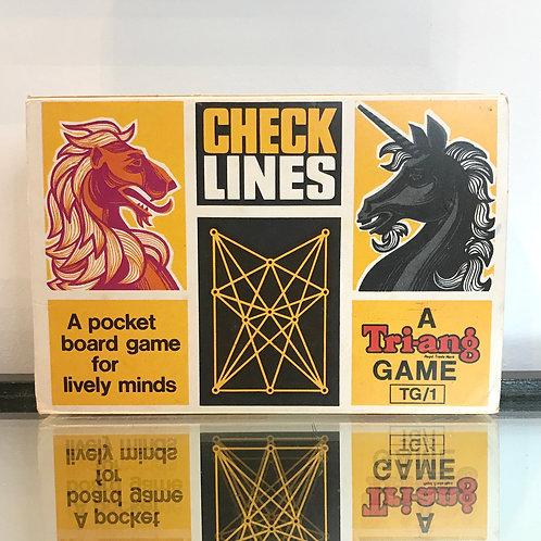 VINTAGE TRI-ANG POCKET BOARD GAME