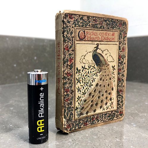 MINIATURE BOOK. CRICKET ON THE HEARTH. Charles Dickens