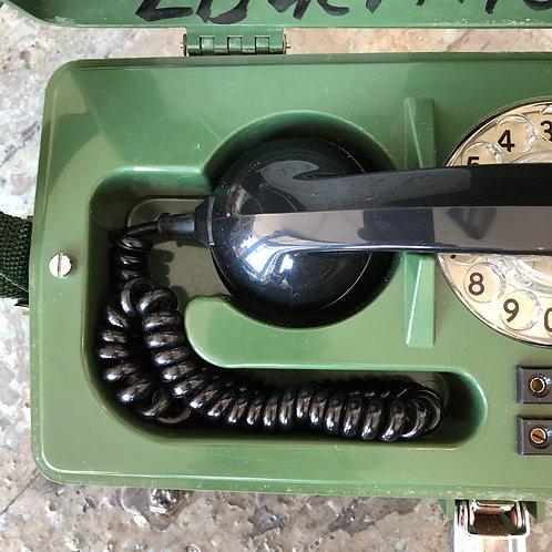 VINTAGE BT LINESMAN MOBILE TELEPHONE IN CASE