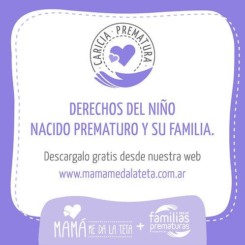 derechos del bebé nacido prematuro y su familia.
