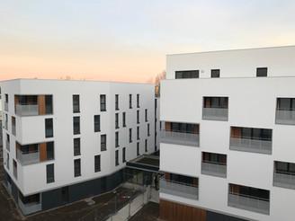NOISY LE SEC // Livraison des logements Ourcq