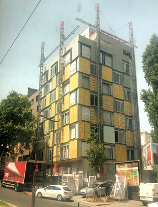 PARIS MASSENA // Le chantier grimpe...