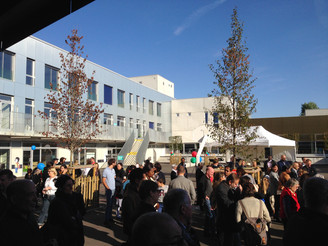 INAUGURATION // Groupe scolaire