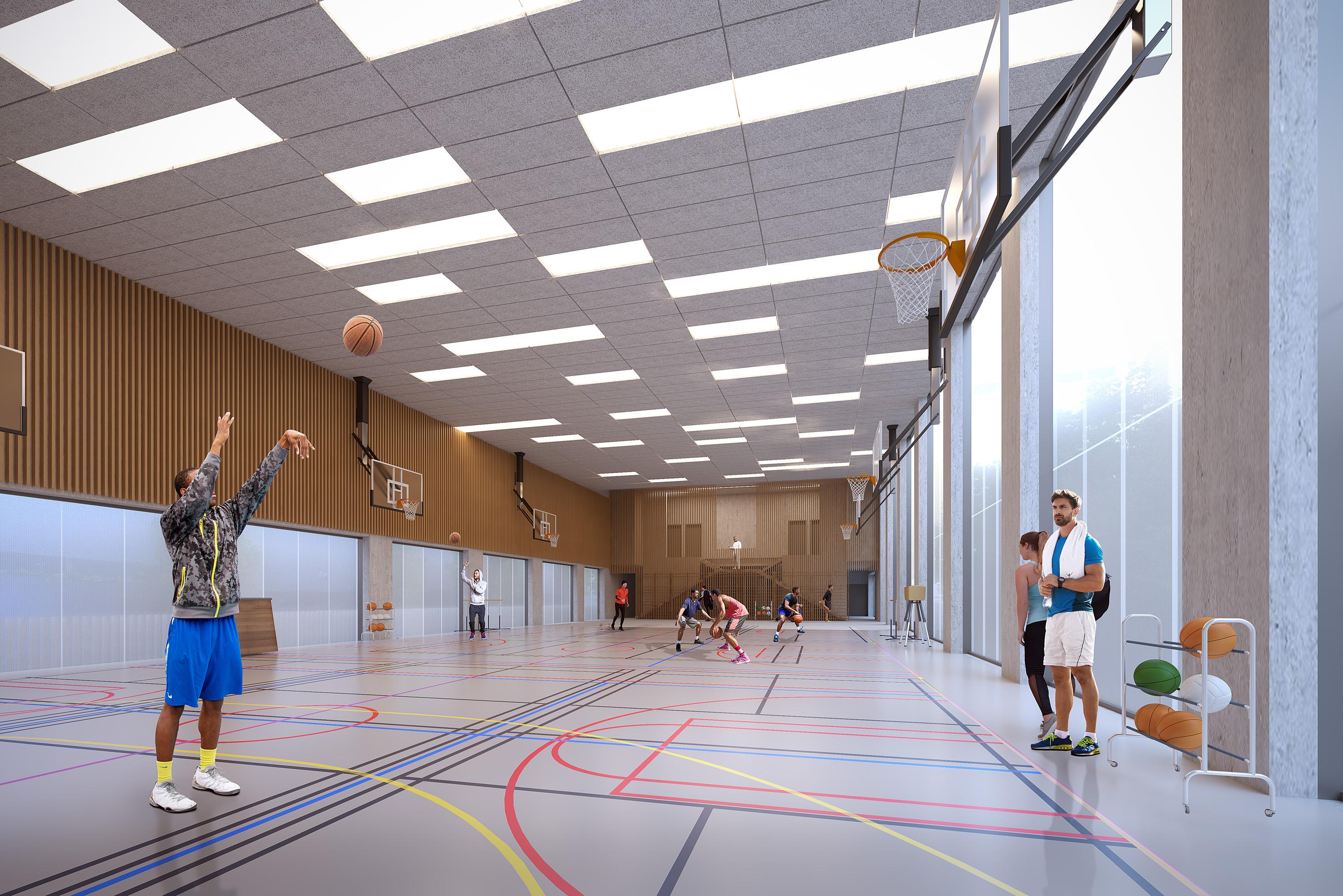 SAINT-OUEN Gymnase Biron