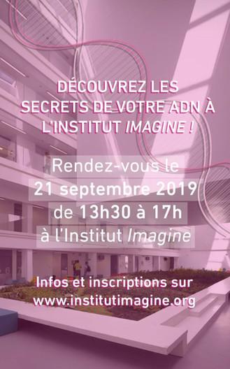 INSTITUT IMAGINE // Journées du patrimoine #2019