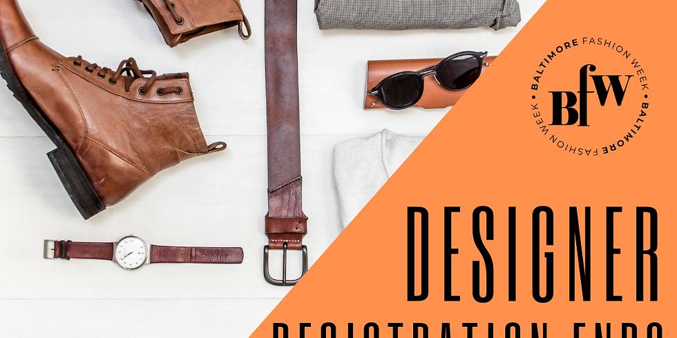 Baltimore Fashion Week Designer Registration