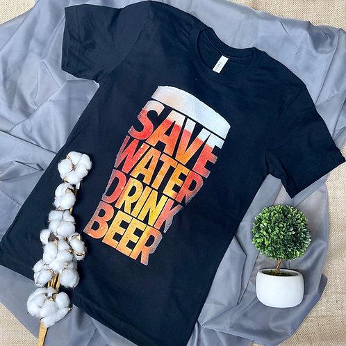 Save Water Tee
