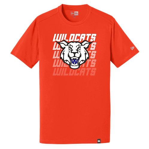 Wildcats Soccer Fade Tee