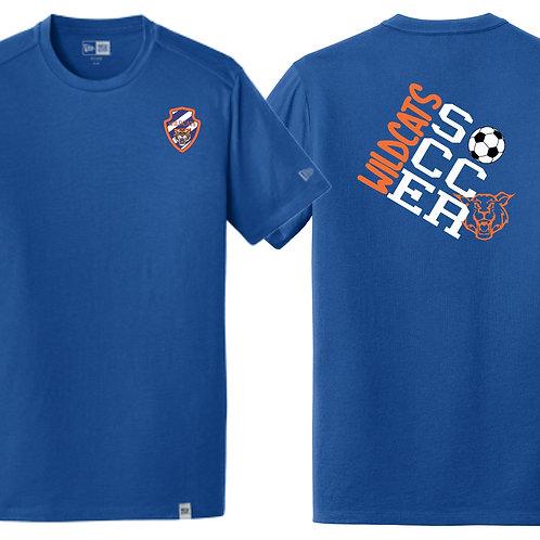Wildcats Soccer Royal Blue Tee