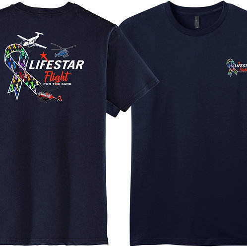 Lifestar Flight for a Cure Ribbons Tee