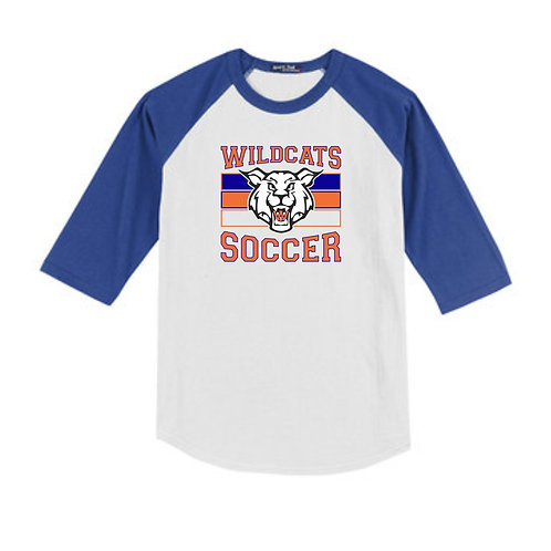 Wildcats Soccer Youth Raglan Tee