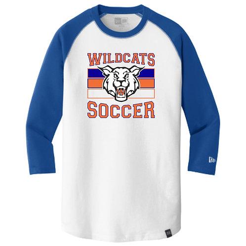 Wildcats Soccer Raglan Tee