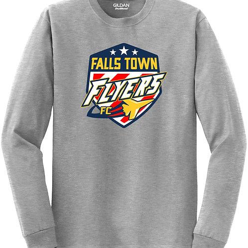 FC Falls Town Logo Long Sleeve Tee